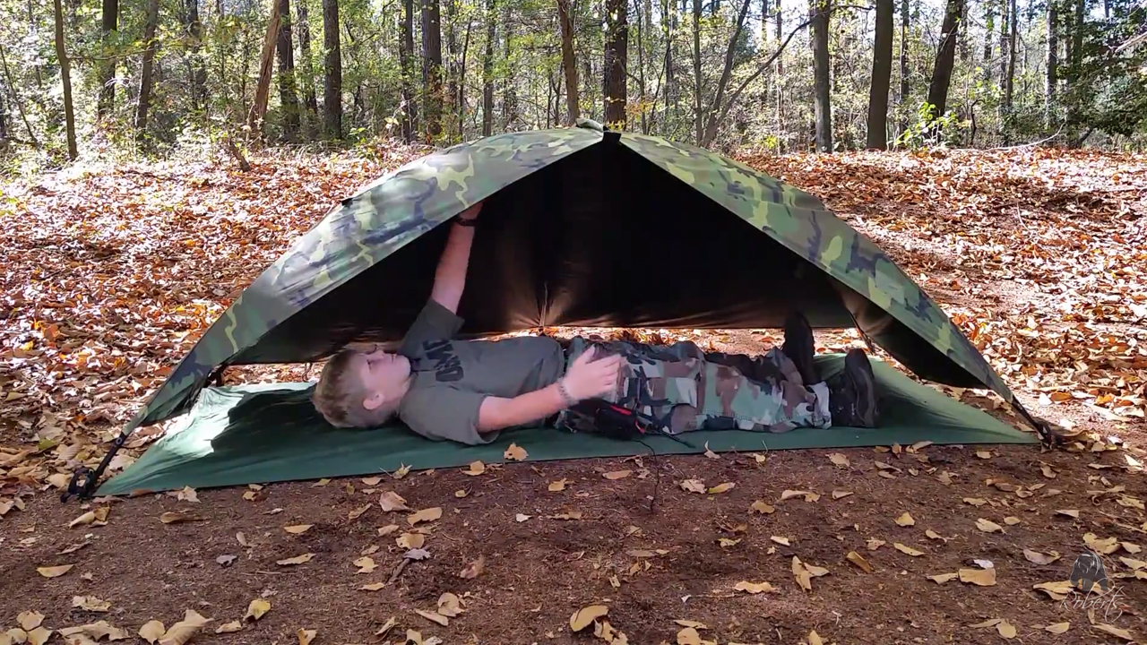 Eureka ICS 2000 Improved Combat Shelter without tent body & Eureka ICS 2000 Improved Combat Shelter Tent - Roberts Bushcraft ...