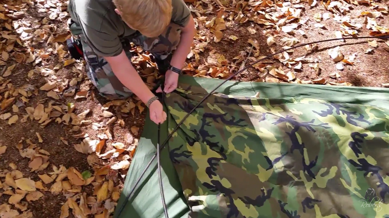 Eureka ICS 2000 Improved Combat Shelter Tent assembly & Eureka ICS 2000 Improved Combat Shelter Tent - Roberts Bushcraft ...