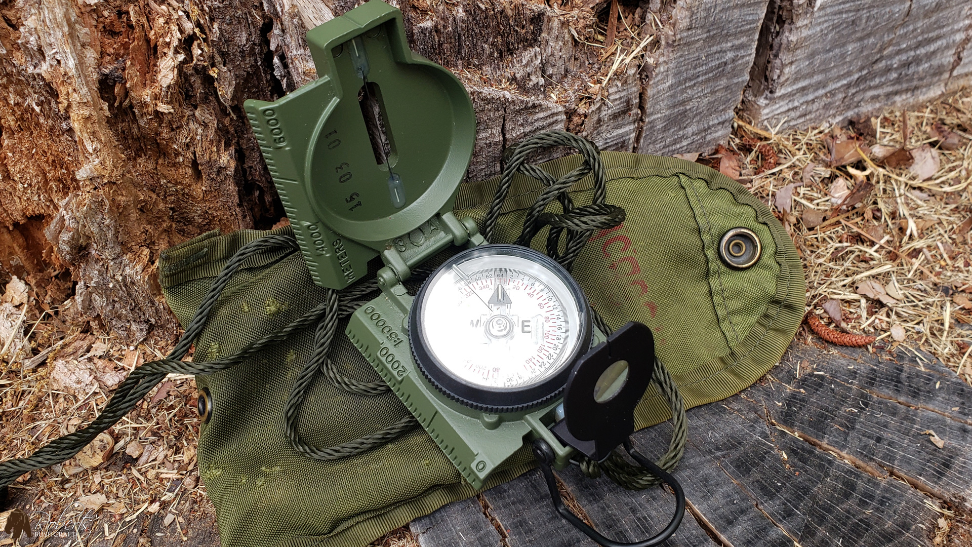 Cammenga compass for land navigation