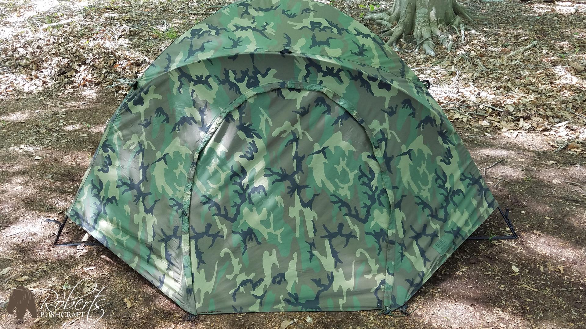 USMC Two Man Combat Tent fly USMC Two Man Combat Tent fly ... & USMC Two Man Combat Tent and Hooch Setup - Roberts Bushcraft Outdoor ...
